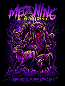 MEANING presents SPOOKY ZOO 2014 開催決定
