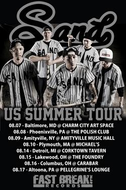 SAND「U.S. SUMMER TOUR」