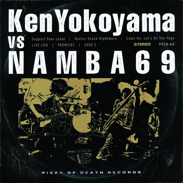 スプリットCD『Ken Yokoyama VS NAMBA69』6月6日発売!J-WAVE 「SONAR MUSIC」で毎日2週に渡り難波章浩と横山健が登場!