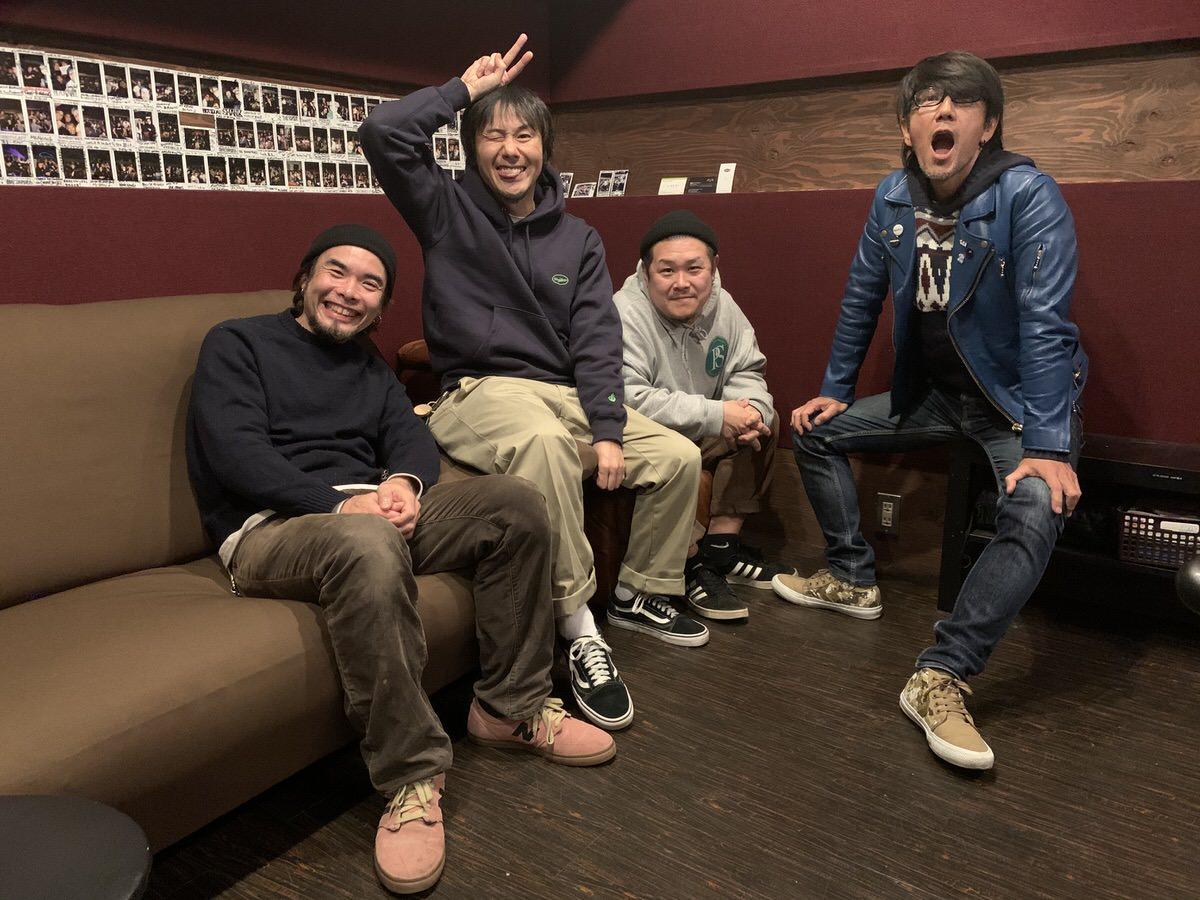 2019年12月『Out Alone』レコーディング時の Ken Band